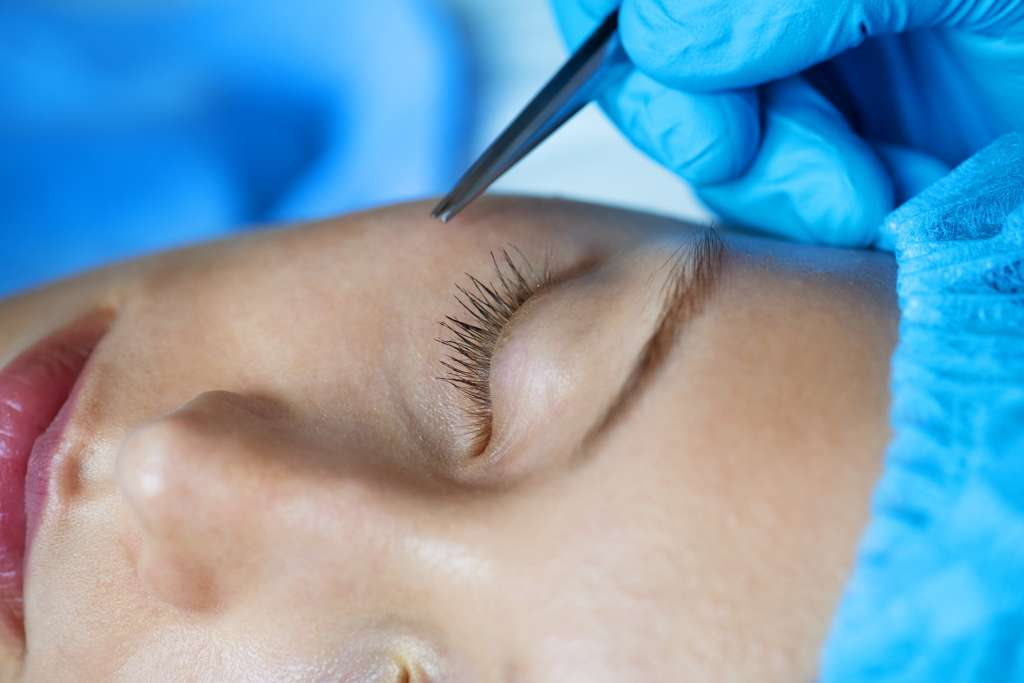 woman aesthetic and cosmetic surgery concept