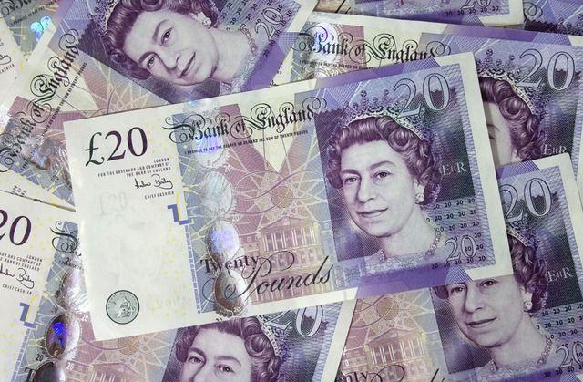Money - British, £20 notes