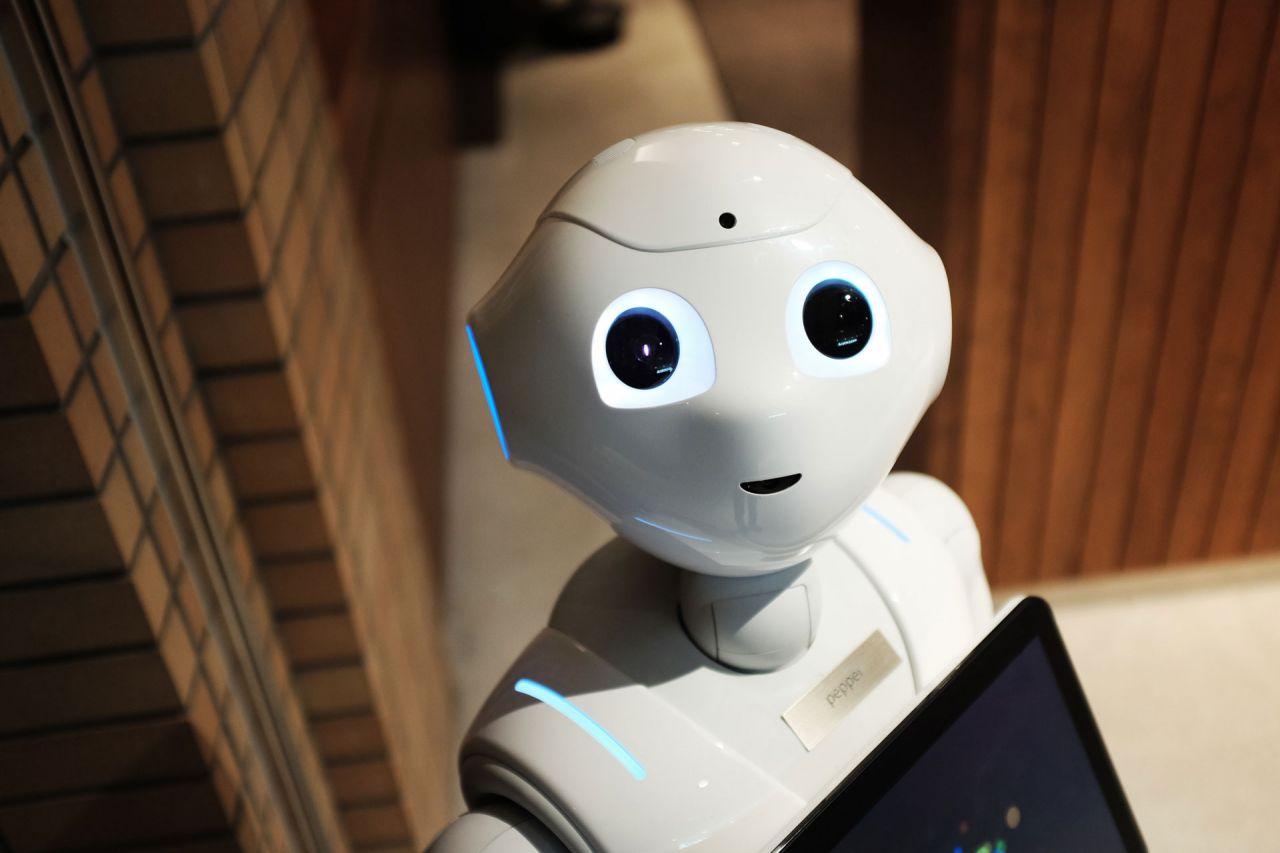 A robot human