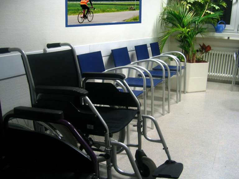doctors waiting room