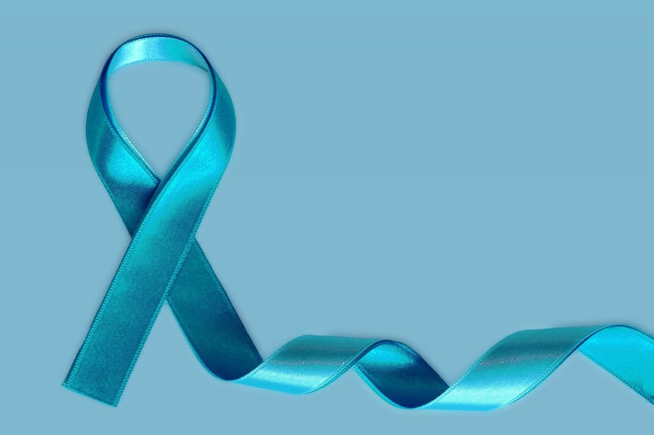Ovarian Cancer Awareness Month - Teal Ribbon
