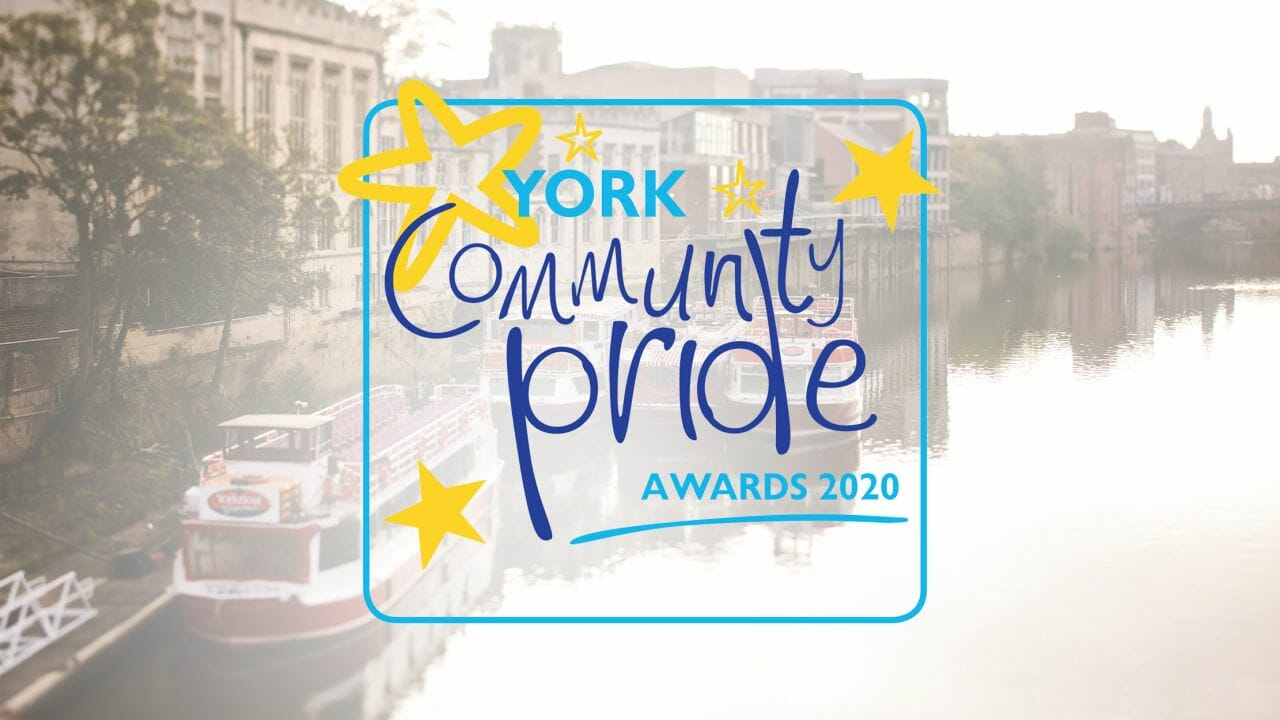 Pryers Solicitors are proud to sponsor the 2020 York Community Pride Awards for the sixth year.