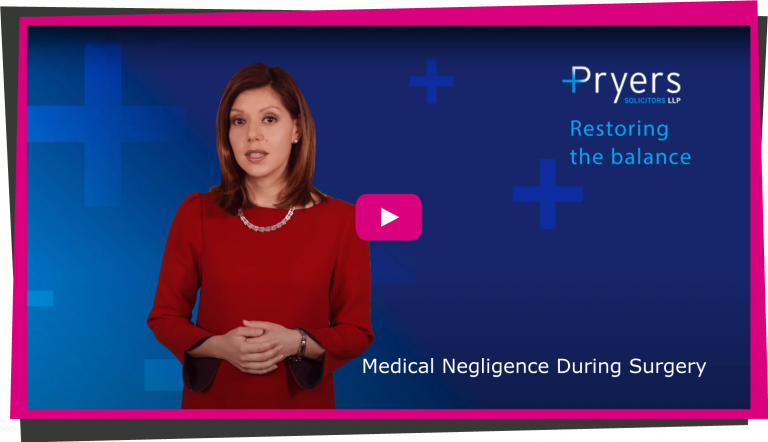 Medical Negligence During Surgery video