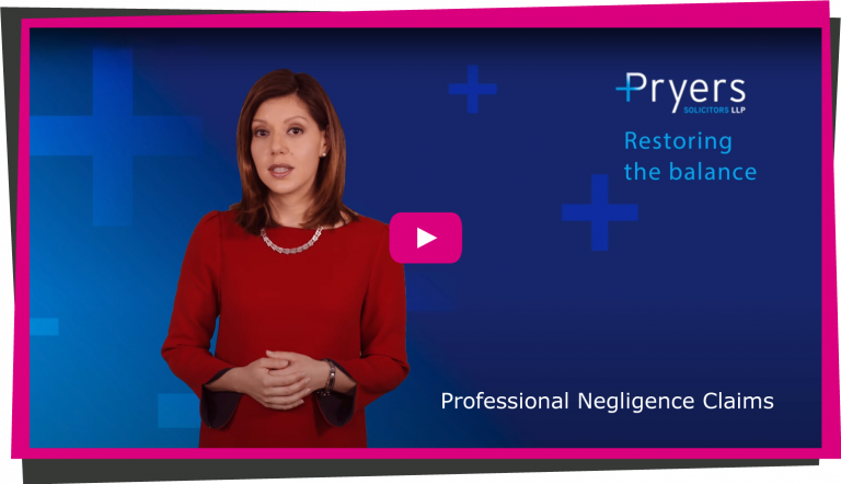 Professional Negligence Claims Video